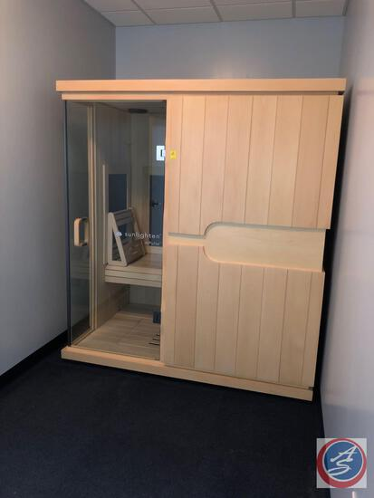 "Sunlighten mPulse cONQUER Sauna Room Version 041315 Measuring 71"" X 47 1/2"" X 78 1/2"""