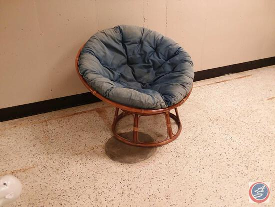 Popasan Saucer Chair w/Cushion