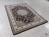 Amici Brown Million Point Weaved Rug 89