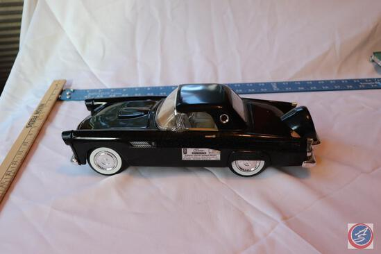 Vintage 1986 Jim Beam Genuine Regal China 1956 Ford Thunderbird Decanter