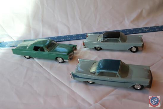 Jo-Han Models Inc. Replica 1958 Desoto, Jo-Han Models Inc. Replica 1967 Cadillac and Jo-Han Models