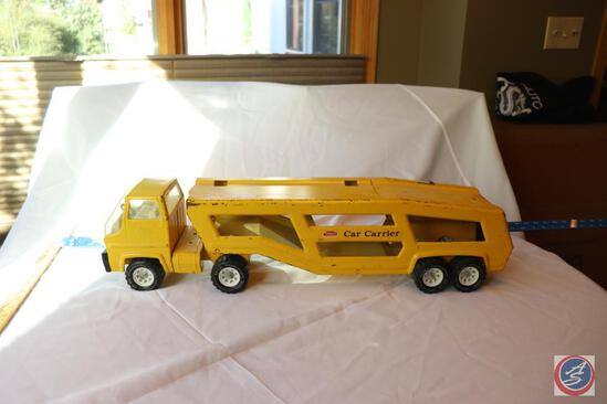 Vintage Tonka Toy Car Carrier