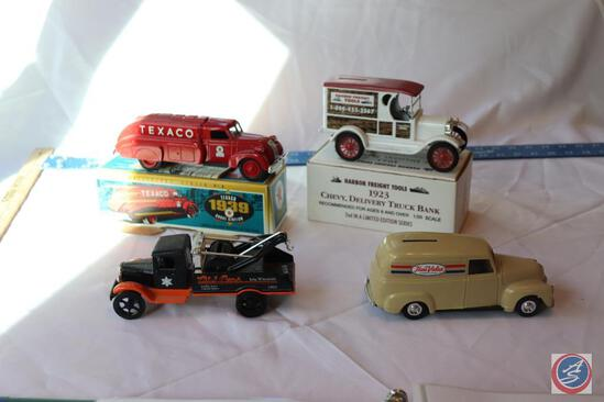ERTL 1993 Edition Replica 1933 Hawkeye, ERTL Replica Harbor Freight Tools 1923 Chevy Delivery Truck