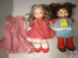 Vintage 1973 Fisher Price Lap Sitter Doll No. 203 Audrey and Vintage 1973 Fisher Price Lap Sitter