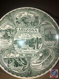 Schmid Decorative Plate Marked Angelic Procession Inspired by Berta Hummel Decorative Plate Made in