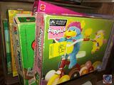 Pastel Pets 25 Piece Puzzle, Popples 63 Piece Puzzle, Peanuts 60 Piece Puzzle, Barbie 100 Piece
