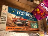 Schaper A Game Toy Cootie Game and Milton Bradley The Test Drive Game