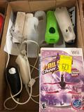 Wii Games Including All Star Cheer Squad, Ten Pin Ally 2, Lego Star Wars The Complete Saga, Super
