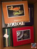 Books Including Titles Such As Automobile Quarterly Volume 32 No. 1-4, Dodge Pickups History and