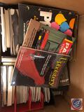 Books Including Titles Such As How To Paint Your Car, Custom Auto Upholstery, Sherwin Williams