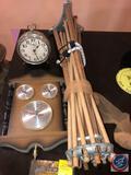 Westclox Big Ben Alarm Clock, Jason Temperature/Hygrometer, Arrow Fastener Co. Staples and More