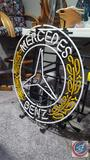 Mercedes Benz Neon Sign