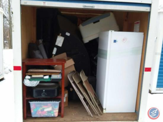 "Complete Contents of 193"" x 92'' Storage Pod 4998BX. A $50 Refundable Clean-Out Deposit is Required."