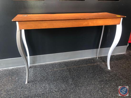 """Console Sterling Couch Table Measuring 47 1/2"""" X 15 1/2"""" X 30"""""""