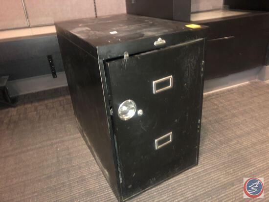 "All Steel Equipment Filing Cabinet Measuring 28 1/4"" X 18"" X 28"""