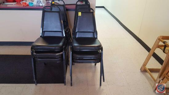 "{{12X$BID}} Attco Restaurant Chairs Measuring 33"" [[CONDITIONS VARY]]"