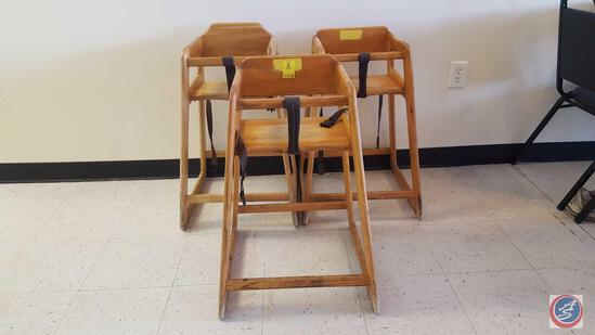 (3) High Chairs