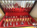 Holmes and Edwards Inlayed Silver-plate Cutlery in Original Box