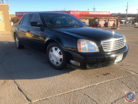 2005 Cadillac Deville Passenger Car, VIN # 1G6KD54Y95U178356