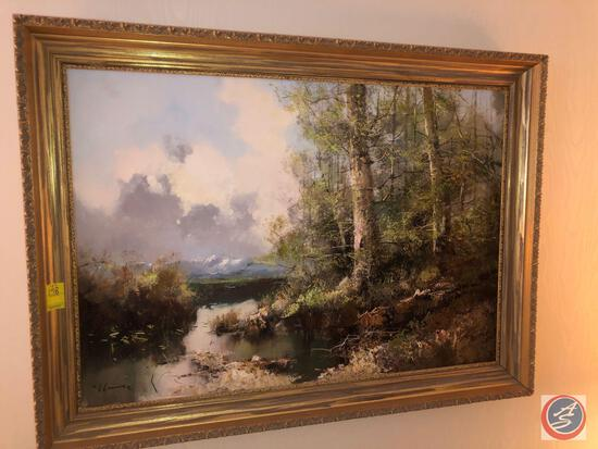 Original Oil Painting Signed by Ingfried Henze