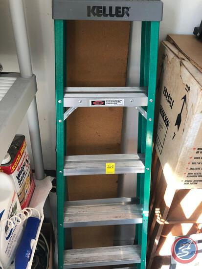 Keller 6 Ft. Fiberglass Ladder