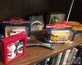 Joseph K Santa Clause Ornament, Vintage 1955 Die-Cast Pepsi Kombi Van Toy, Vintage 1959 Die-Cast