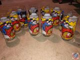 (10) 1978 D.C. Comics Superman From Kal-el the Child to the Man of Steel Cups