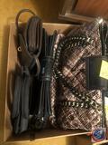 M.C. Black Handbag, Mellow World Handbag, Nine West Handbag and Small Brown Faux Leather Handbag