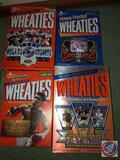 Frosted Flakes Cereal Box with Troy Aikman Super Bowl XXVII, Wheaties Cereal Box with 1995 Dallas