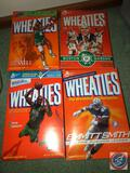 Wheaties Cereal Box with Kevin Garnett, Wheaties Cereal Box with Bill Russell, Wheaties Cereal Box