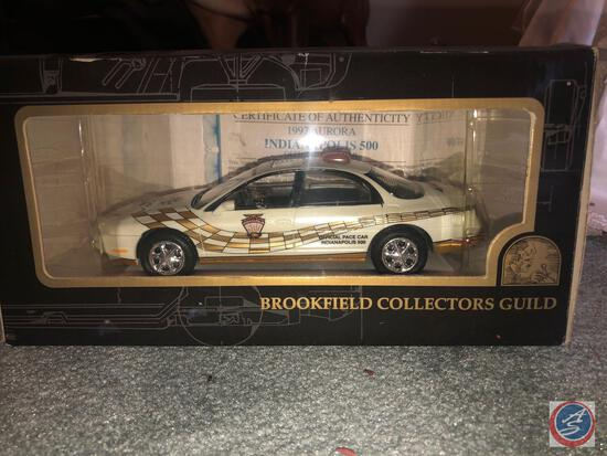 Brookfield Collector's Guild Replica 1997 Aurora Indianapolis 500 Official Pace Car In Original