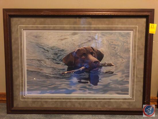 Jay Kemp Signed 2001 Framed Print Titled Return to Sender and Marked 767/1250 with Certificate of