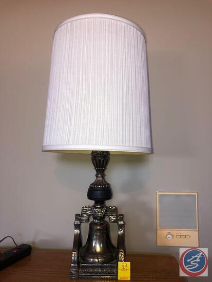 Liberty Bell Lamp with Shades