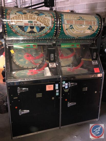 {{2X$BID}} Wheel Deal Game Systems Serial No. 00-2682 [[CONDITION UNKNOWN}}