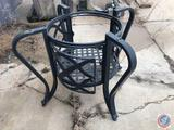 Metal Decorative Outdoor Table Base