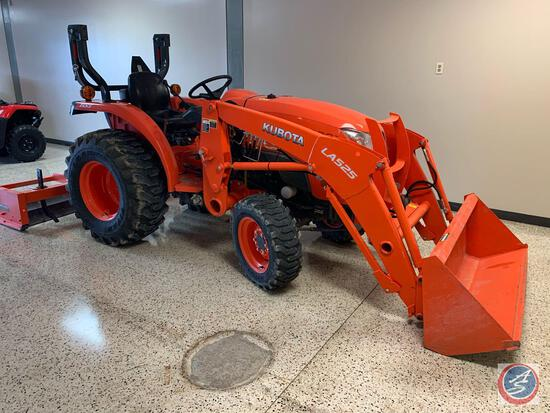 Year: 2016 Make: Kubota Model:L3301HST Vehicle Type: Acreage Tractor Hours: 287 VIN #: