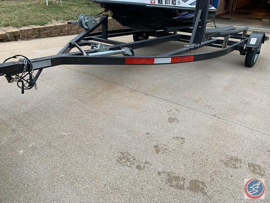 Single Axle Double Jet Ski Trailer.