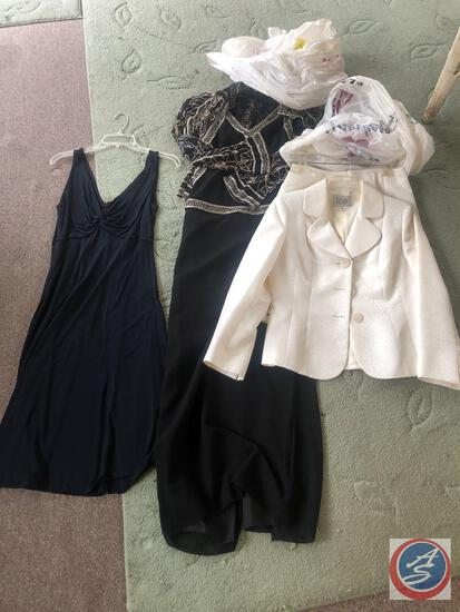DKNY Donna Karan New York Dance Costume Size 12, Le Suit Petite Blazer and Skirt Size 10P, Jkara New