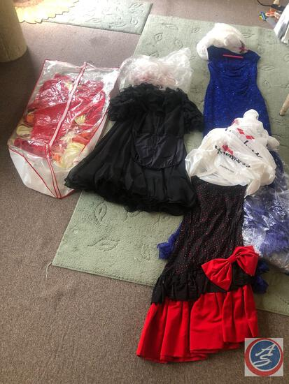 Professional Ballroom Dancing Costumes - Incl. Brands Lorie Chamblise, cOnnected apparel Size 8,