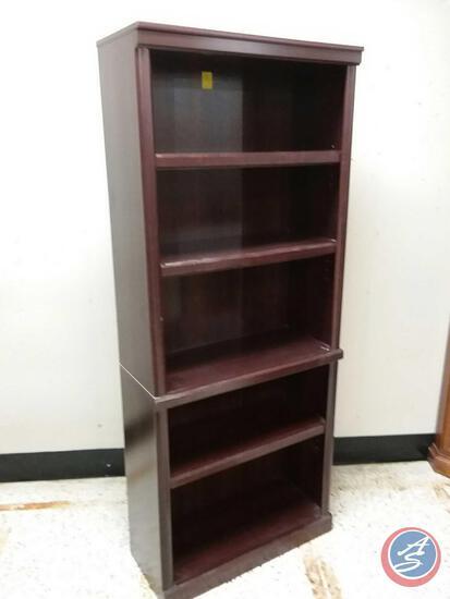 "Five Shelf Bookcase Measuring 71"" X 29 1/2"" X 12 1/2"""