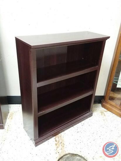 "Three Shelf Bookcase Measuring 44"" X 35 1/4"" X 13 1/2"""