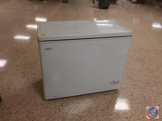 "Danby Chest Freezer Model Number Dcf072Aa2Wdb1 Measuring 40"" X 21"" X 33 1/2"""