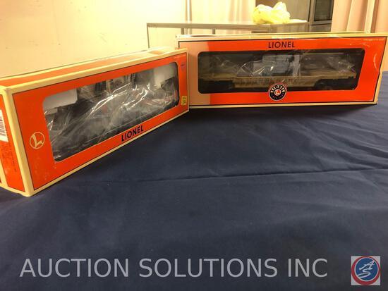 {{2X$BID}} 2004 Lionel Union Pacific Well Car No.6-39470 and 1996 Lionel 3840 Chesapeake and Ohio F9