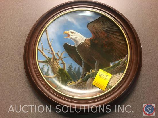 1982 Larry Toschik Limited Edition Collectors Plate 1188/5000