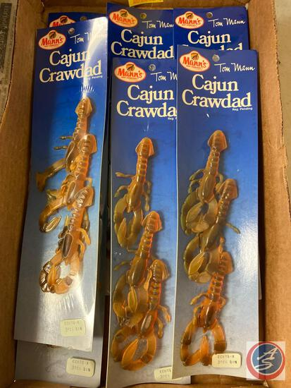 Mann's Cajun Crawdad Bait (7 Packages of 3)