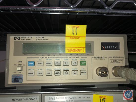 Hewlett Packard 437B Power Meter