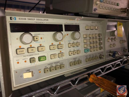 Hewlett Packard 8350B Sweep Oscillator