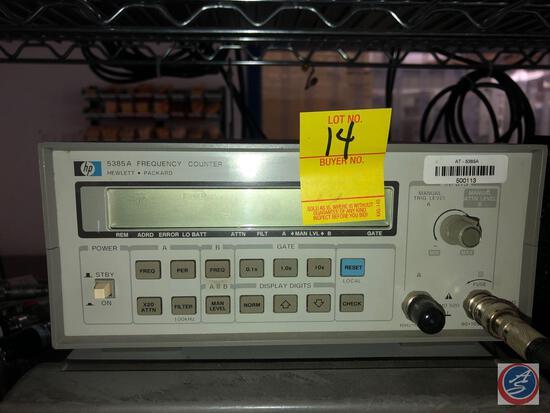 Hewlett Packard 8385A Frequency Counter
