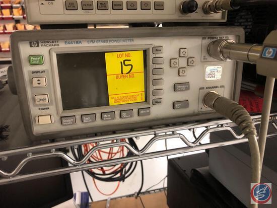 Hewlett Packard E4418A EPM Series Power Meter