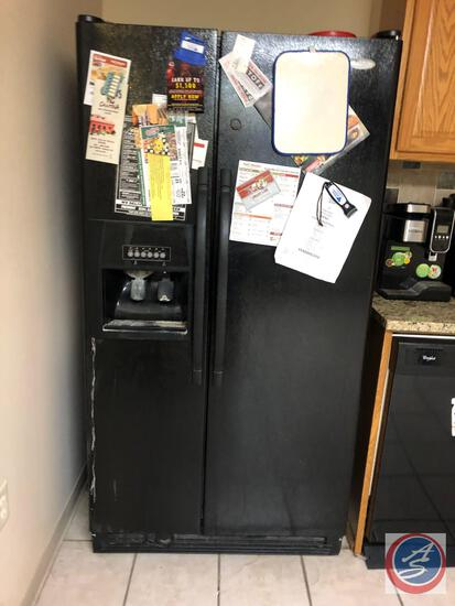 Whirlpool Double Door Refrigerator Model No ED5KVEXVB04